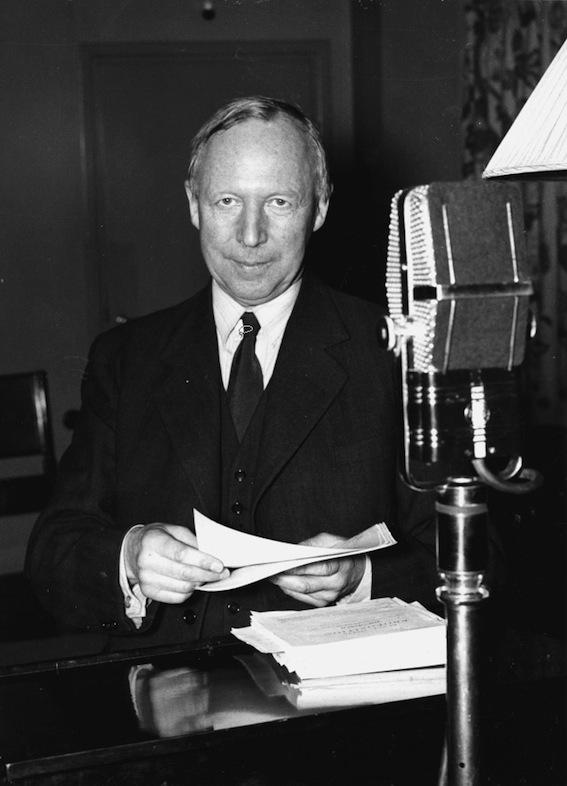 Ernst WIgforss, socialdemokratisk finansminister på 1930-talet.