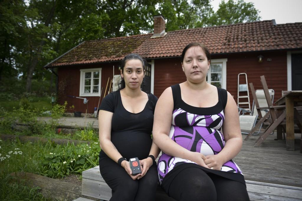 Ging Eriksson och Jeanette Vänttinen blev båda utsatta för mobbning och sexuella trakasserier. Foto Felipe Morales.