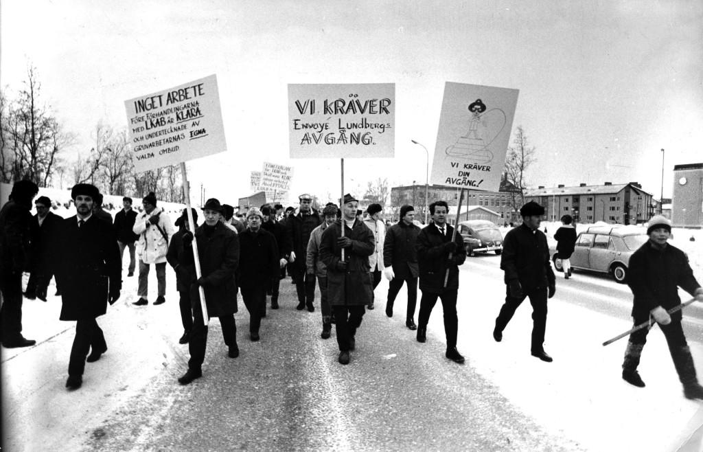 Med undantag för den stora gruvstrejken 1969-1970 har det varit ont om vilda strejker.