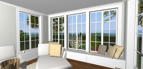 Förslag 8 - vardagsrum med fönsterbänkB
