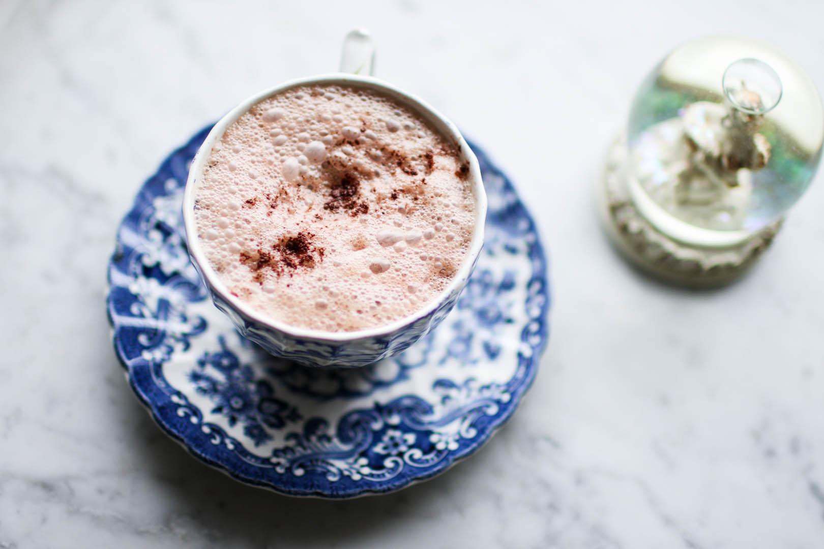 Vegansk varm choklad recept