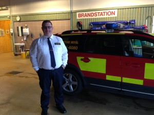 Mats Esberg, räddningsledare i Kalix