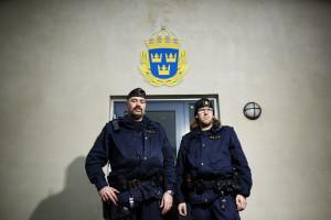 Pierre Sinclair och Andreas Nordström. Foto: Anders Andersson.