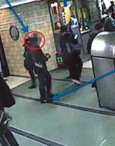 Bilder från polisens förundersökning gällande mobilblottaren