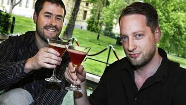 Tom och Carl, anno 2008. Foto: Rebecca Ahremark