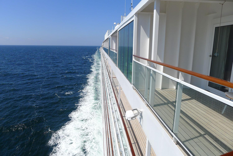 Europa 2 på Nordsjön i juni 2014.