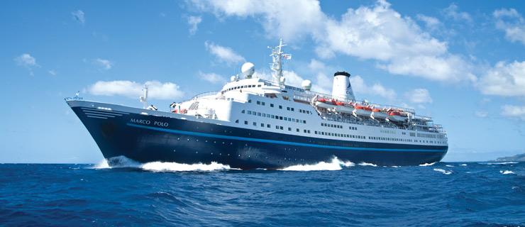 Kryssningsfartyget Marco Polo. Foto: CMV