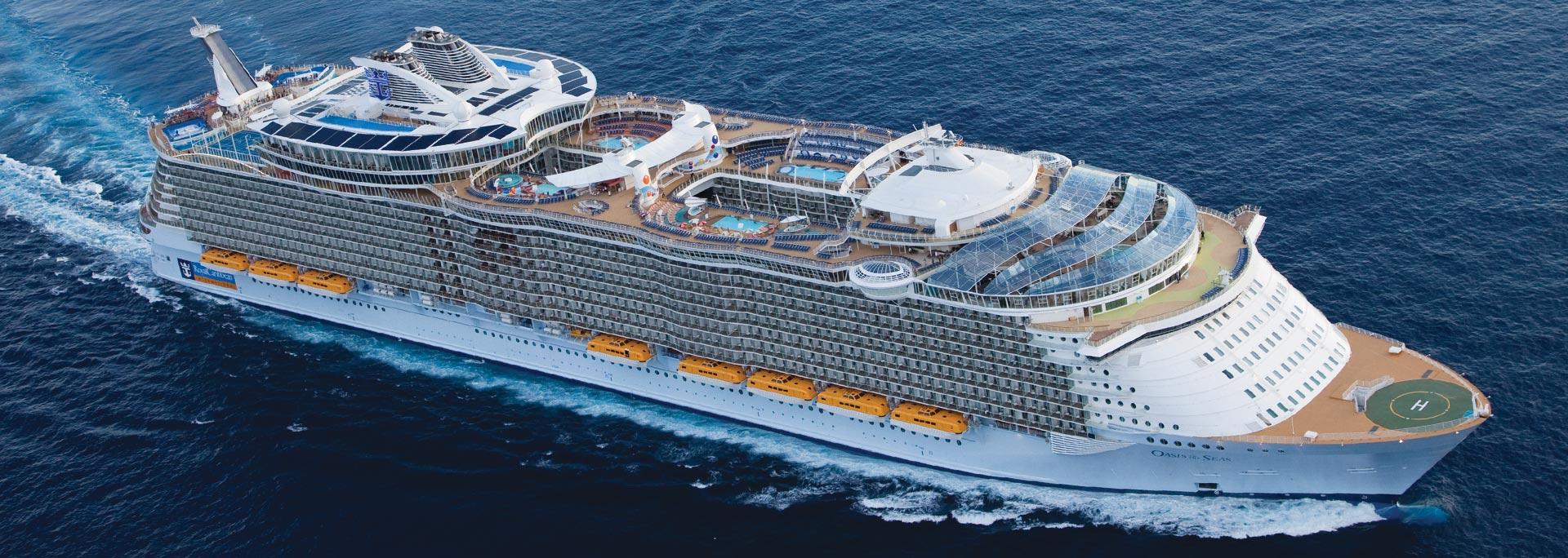 Oasis of the Seas. Foto: Royal Caribbean