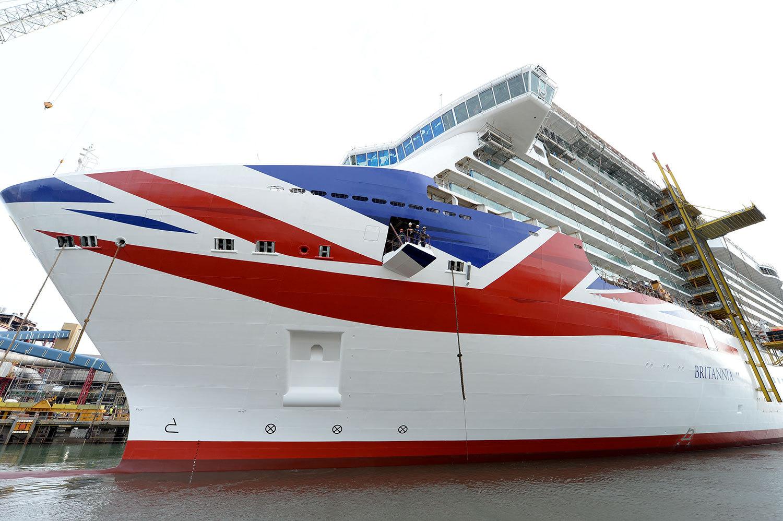 Britannia har premiär i mars 2015. Foto: P&O Cruises