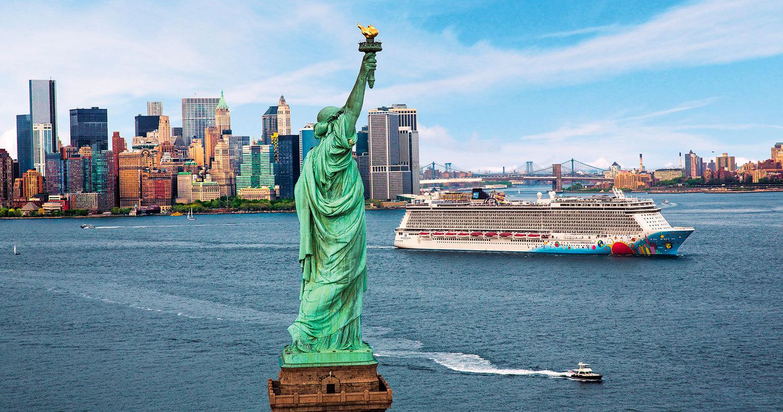 Norwegian Breakaway seglar från New York året om. Foto: NCL