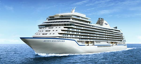 Seven Seas Explorer har premiär sommaren 2016. Foto: Regent Seven Seas
