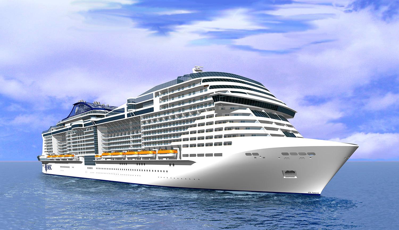 MSC Meraviglia. Foto: MSC Cruises