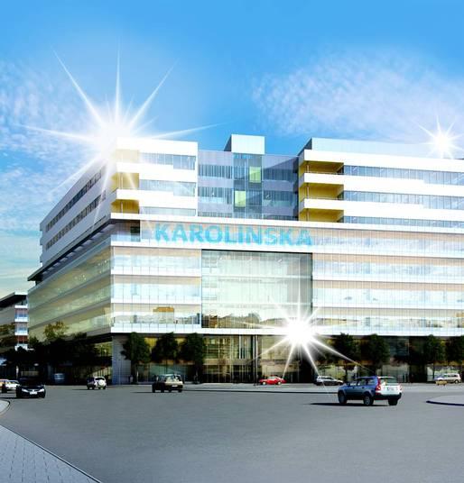 Nya Karolinska är ett av de byggen som skulle ha stoppats av en strejk