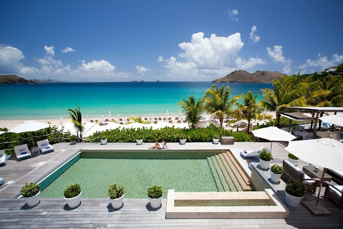 Hotel saint Barth isle de France Pool