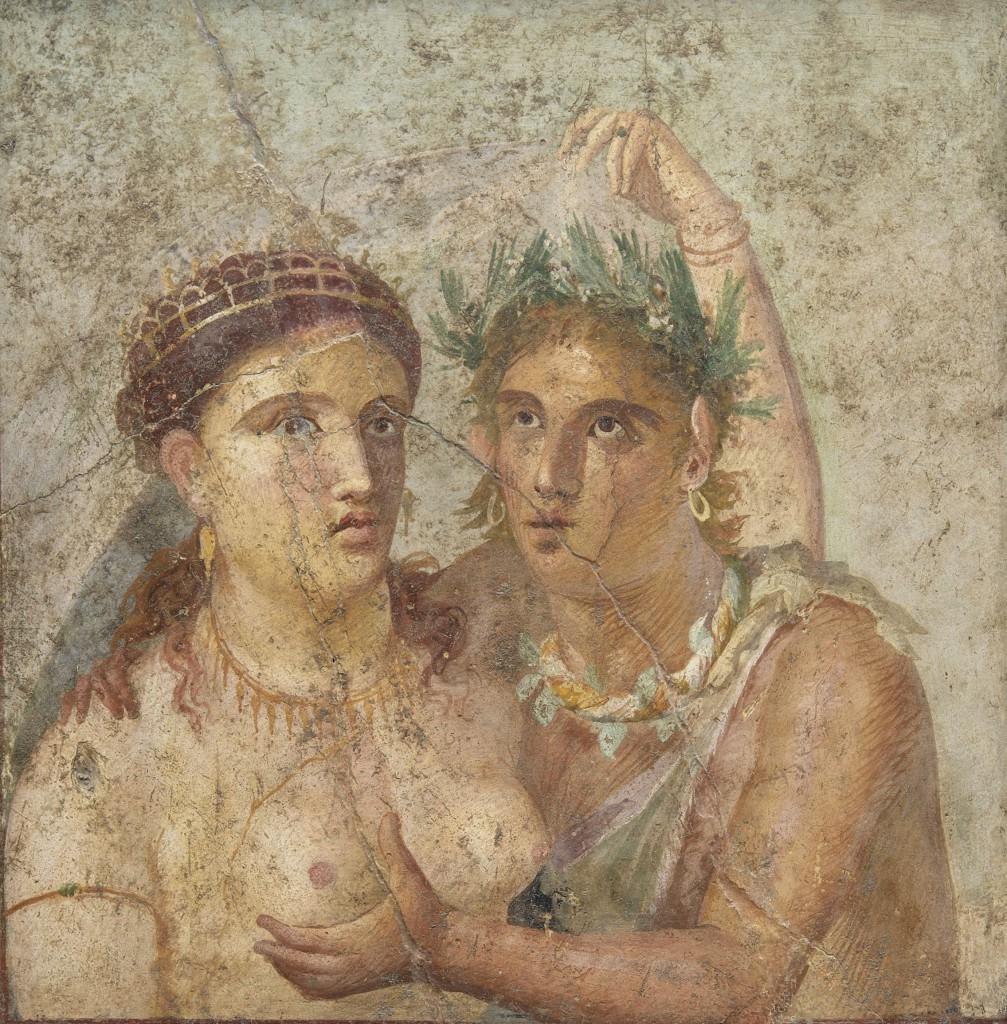 M.N. 110590 Satiro e baccante. Museo Archeologico Nazionale di Napoli.
