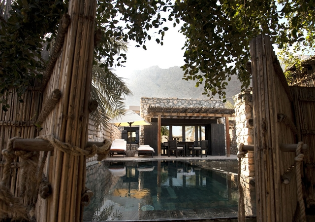 Ziggy Bay Six Senses Resort. Dibba. Oman.Credit: Lloyd Images