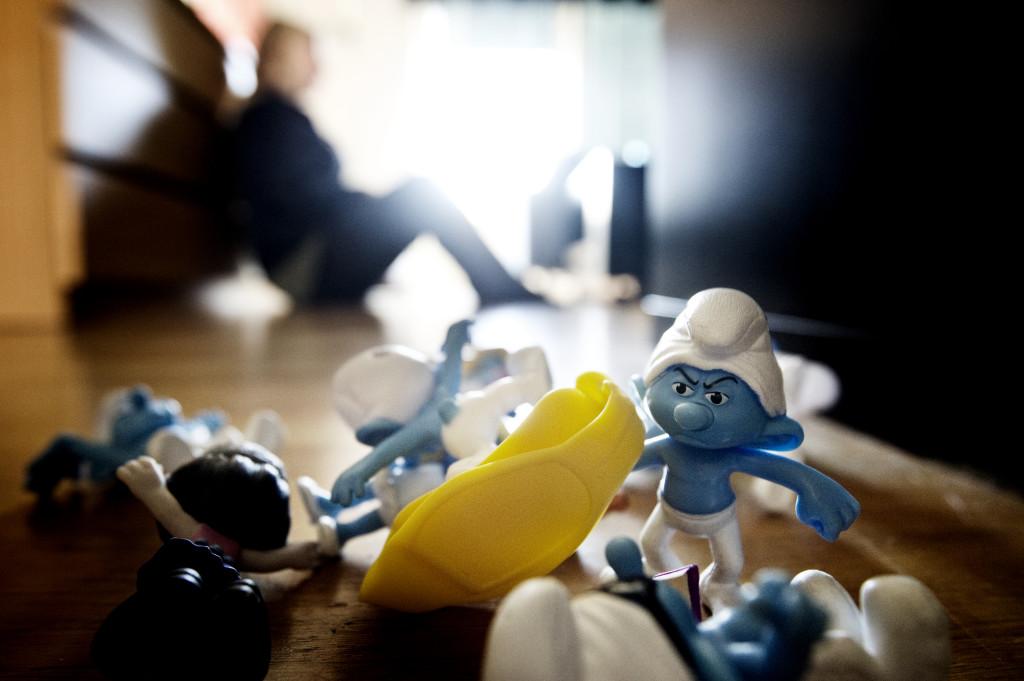 Annas son Harry mobbades i förskolan. FOTO: Pontus Orre