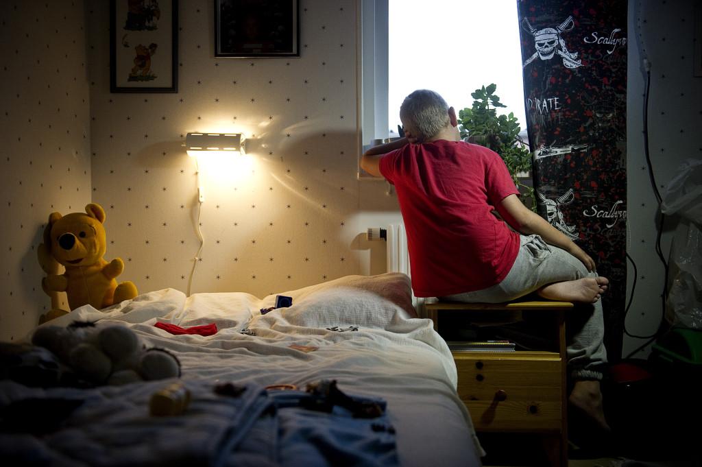 Linus mobbades och tvingades byta skola. FOTO: Pontus Orre