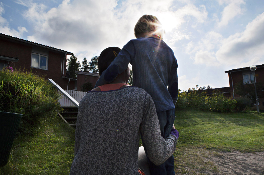 Oscar blev misshandlad i skolan. Foto: Katarina Strömgren/Arbetarbladet