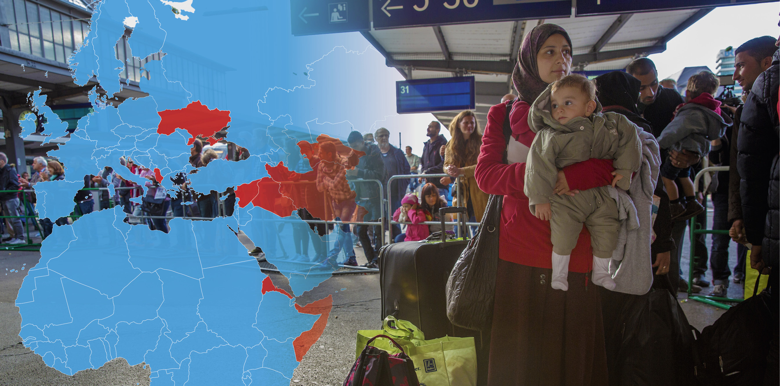Det flyr de från – och så många får stanna i Sverige