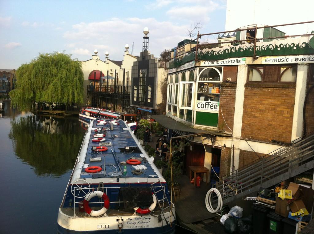 Regent's Canal i Camden.