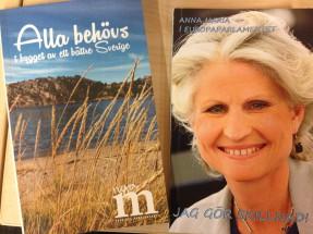 Både Kent Persson och Anna Maria Corazza Bildt har gett ut böcker.