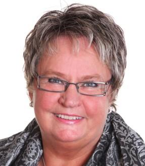 Margareta B Kjellin, äldretalesperson (M). Foto: Pressbild.