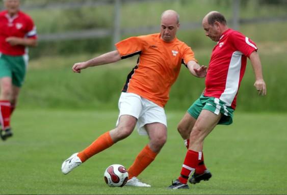 Fredrik Reinfeldt under en match mellan Alliansen och oppositionen 2007. Foto: EIVIND VOGEL-RÖDIN
