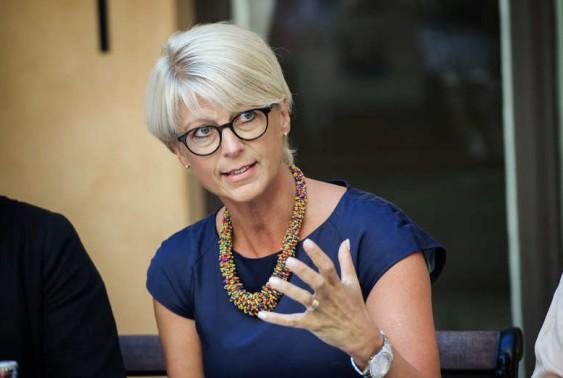 Elisabeth Svantesson. Foto: ANNA TÄRNHUVUD