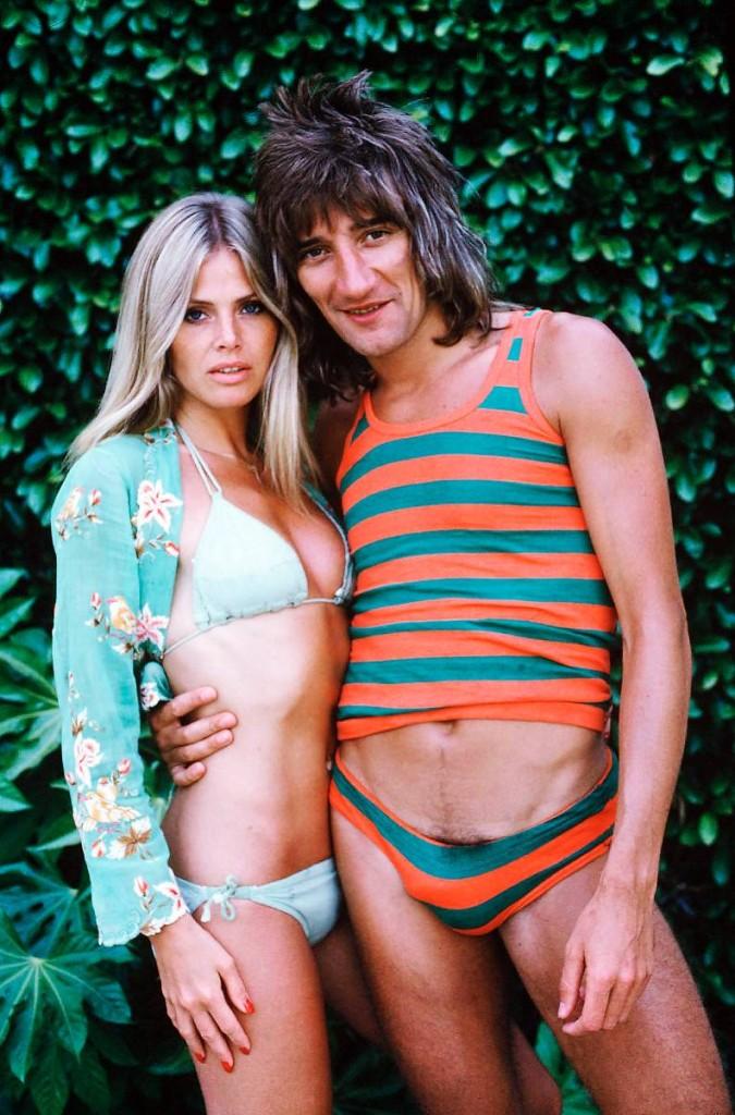 Rod Stewart & Britt Ekland