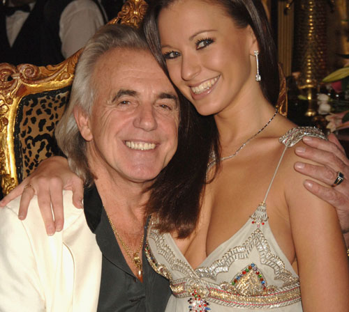 Peter Stringfellow & frugan Bella