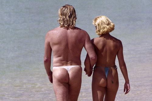 Peter Stringfellow åker gärna på badsemester