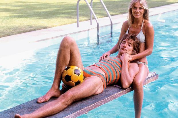 Britt Ekland & Rod Stewart