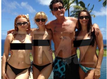 Sheen och akrobatiska damer
