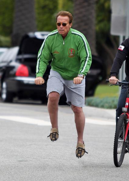Arnold var en av de första att anamma trenden med osynliga cyklar