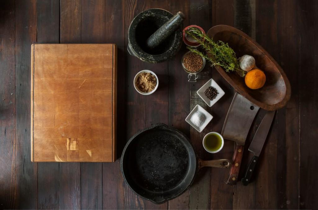 Placera ditt träningsprogram i miljön där majoriteten av våra dåliga hälsoval görs - köket.