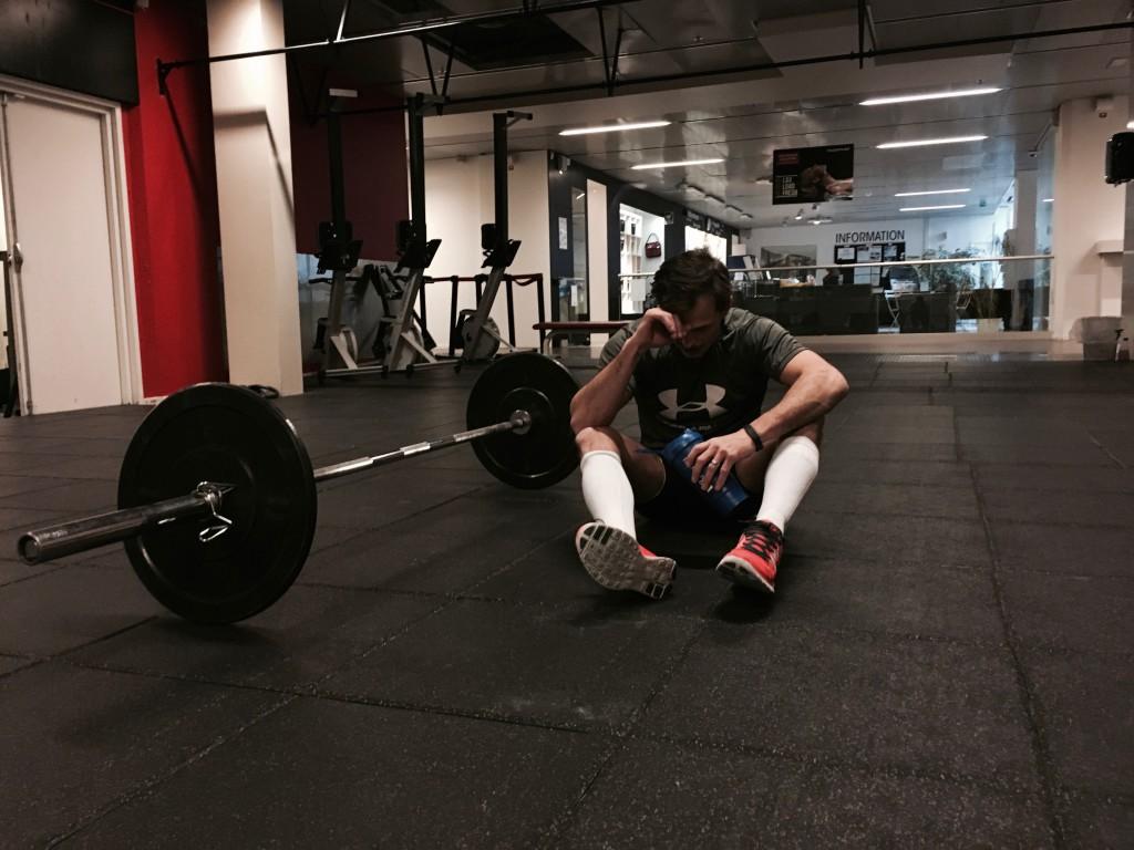 Peters vecka bestod av långt ifrån mysiga träningspass. Men hård arbete ger också stenhårda resultat.