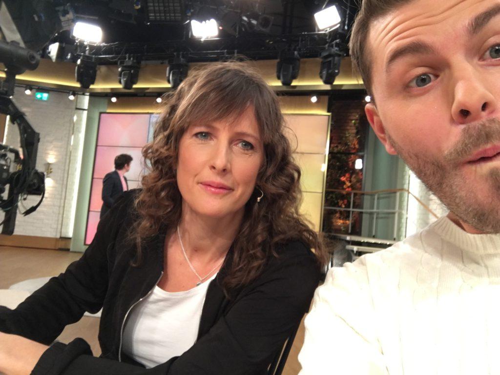 Under gårdagen gästade jag och sockerexperten Ann Fernholm gästade TV4's Nyhetsmorgon för att prata om dokumentären.