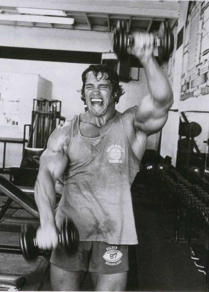 Gillar du brännande mjölksyra och tortyrliknande träningsvärk? grattis, då är det här metoden för dig. Bild lånad från Schwarzenegger.com