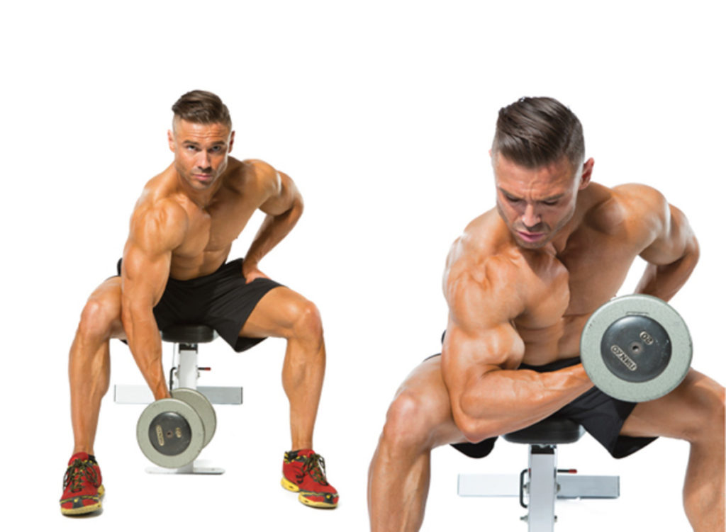 Taada! Världens bästa bicepsövning. Bild lånad från: muscleandperformance.com