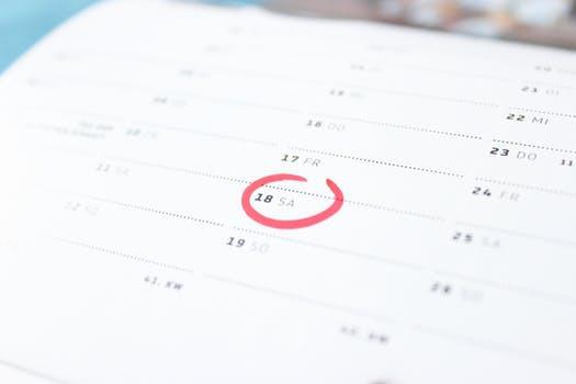 Skapa en tydlig planering - först då kommer träningen bli av.