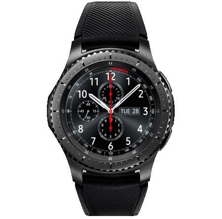 Låt en supersmart klocka hjälpa dina resultat på traven. Bild lånad av: samsung.se