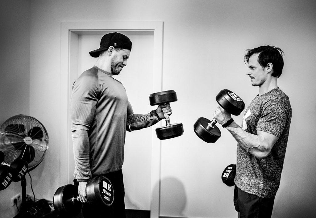 Lika stora delar bicepscurls som bästismys.
