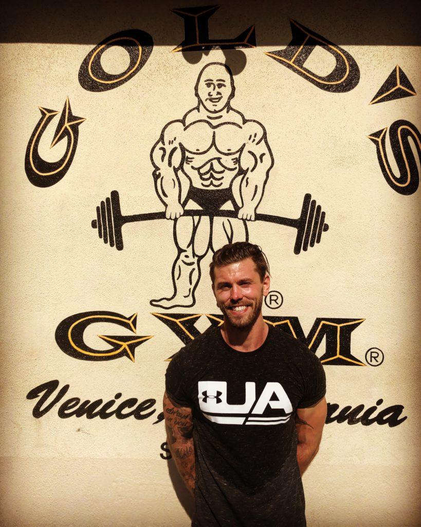 Gymmens gym! Golds Gym i Venice beach är så ikoniskt att håret på armarna stod rakt upp.