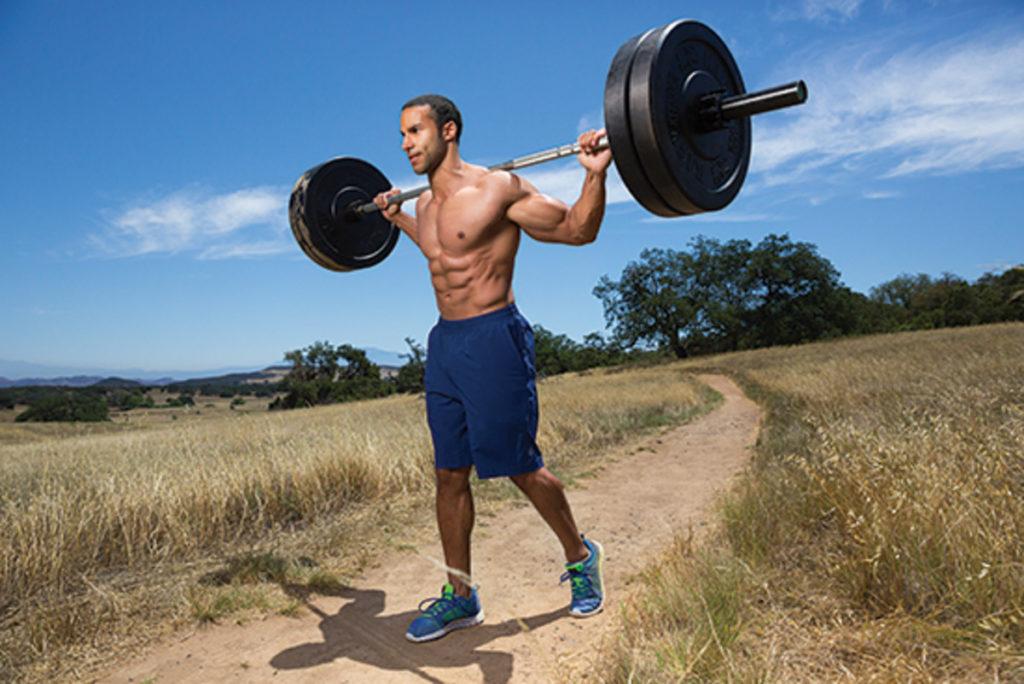 Söndagspromenad med magmuskler på köpet? Bild från: muscleandperformance.com