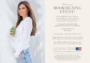 Lexington Invite - Sockerdetox book release