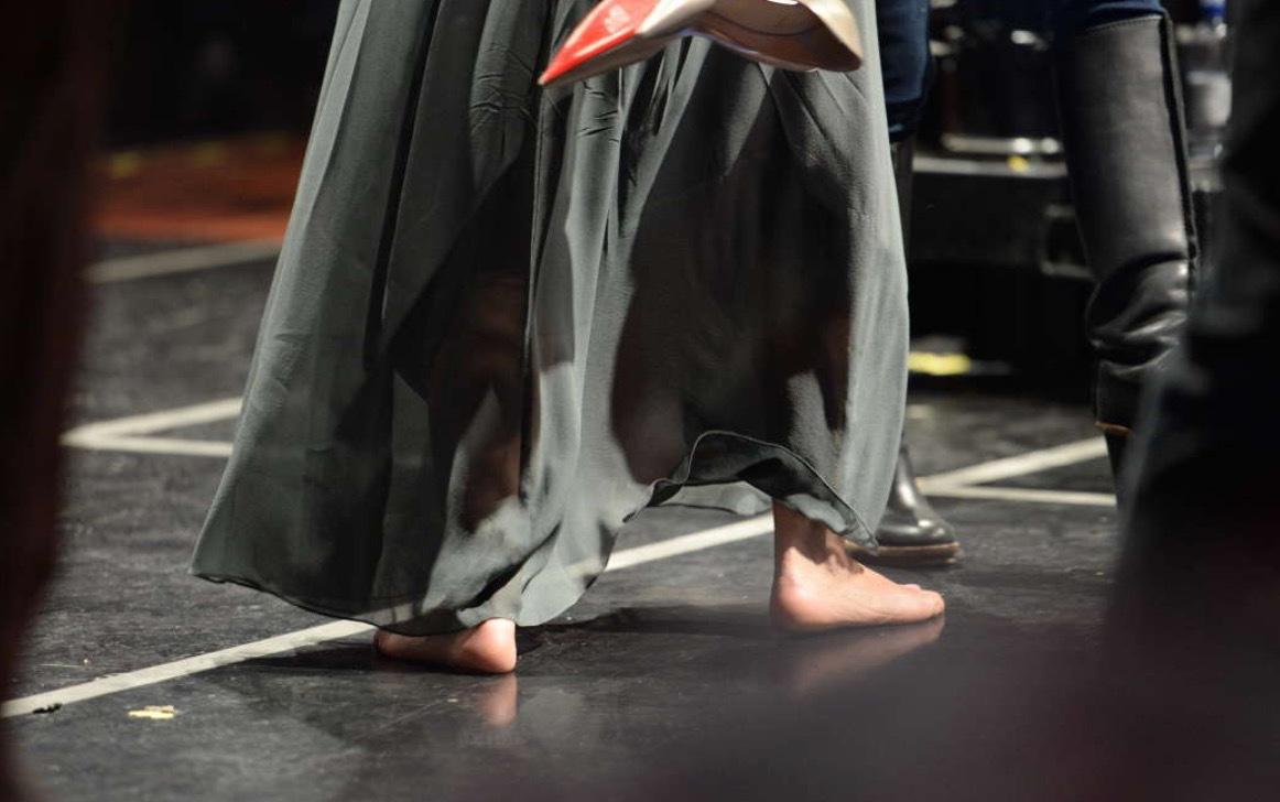 Klackat och klart - för barfota-Gina - Schlagerbloggen 6470f942d8dba
