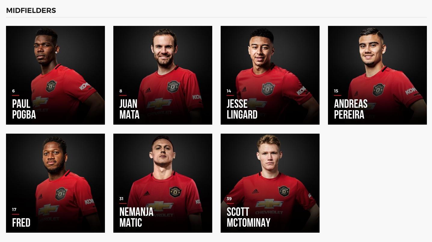 Redan bortplockade från Uniteds hemsida