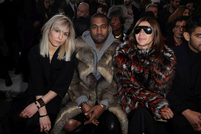 Men's Fashion Week - Givenchy Front Row - Paris