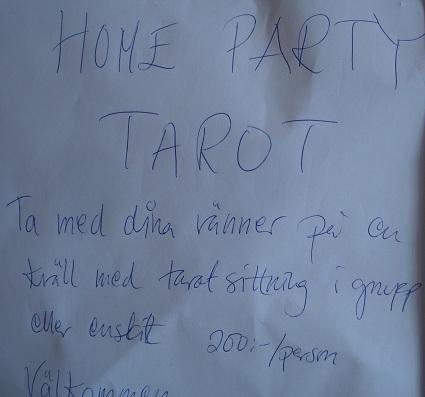 BILD HOME PARTY TAROT